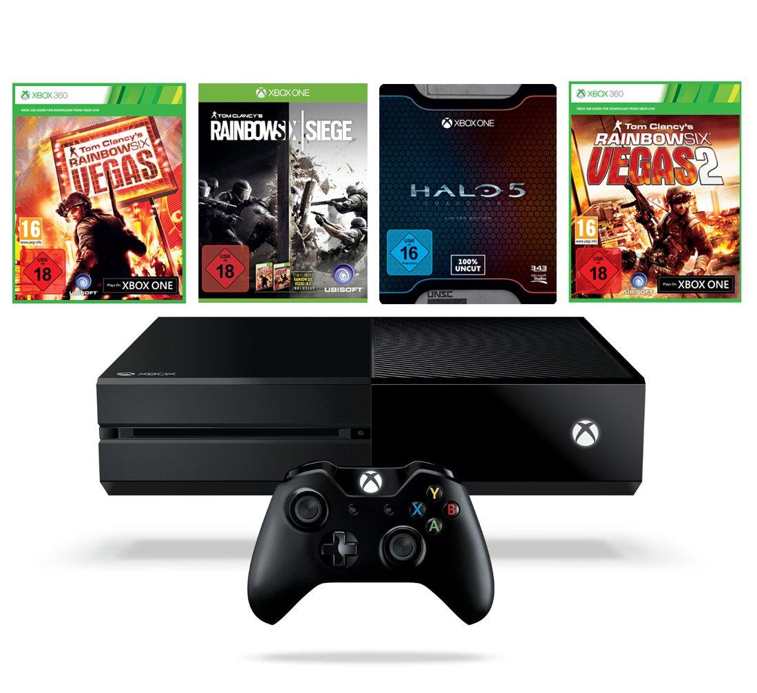 Xbox Rainbow Six Siege Bundle + Halo 5 Limited