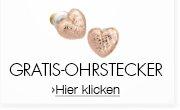 Pilgrim Gratis Herz-Ohrstecker