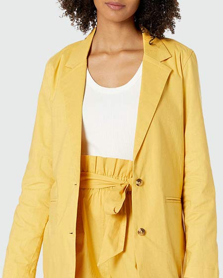 The Drop Loose-fit Turn-Up Sleeve Blazer