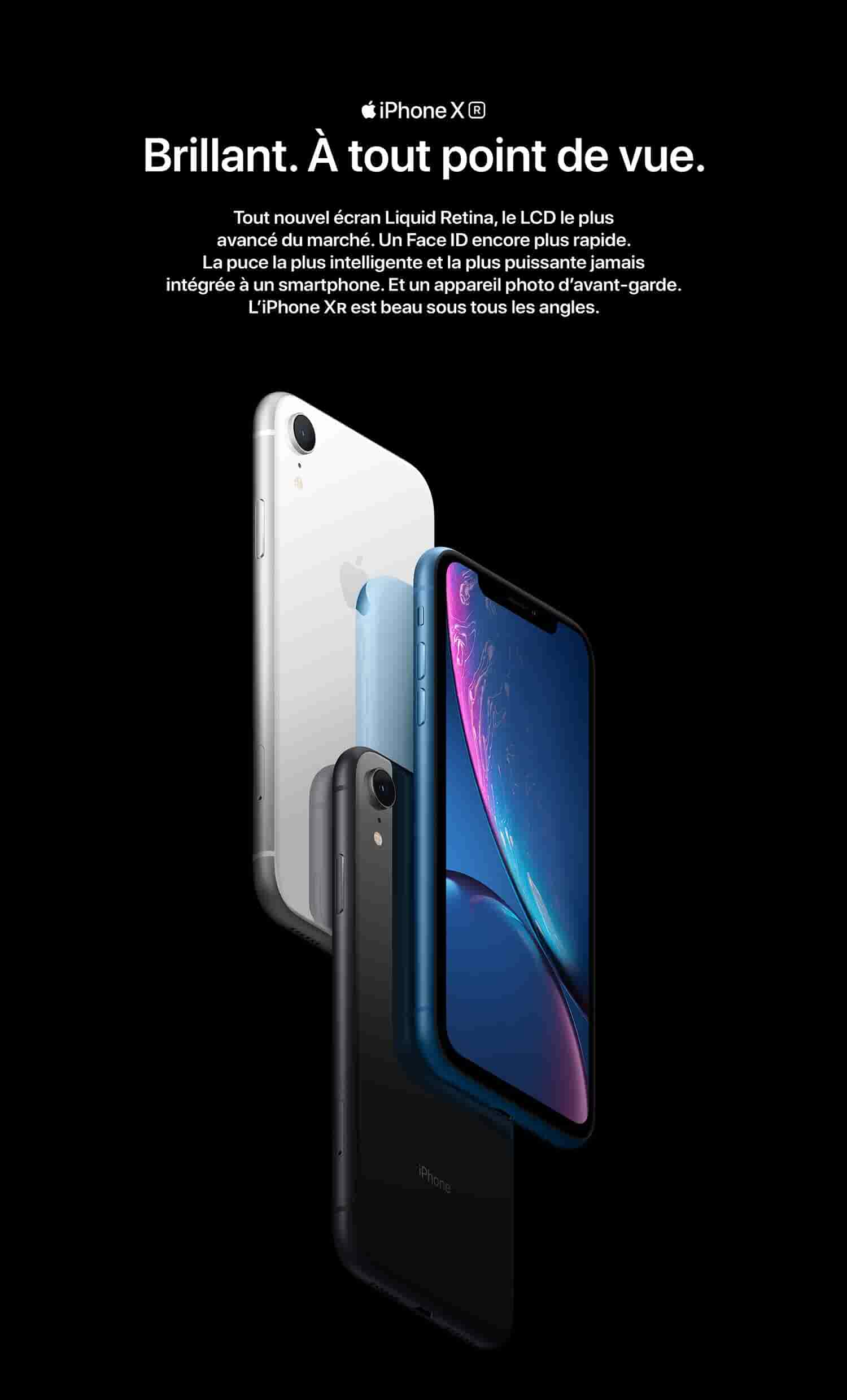 Apple iPhone XR (128Go) - Noir: Amazon.fr