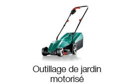 Outillage motorisé de Jardin