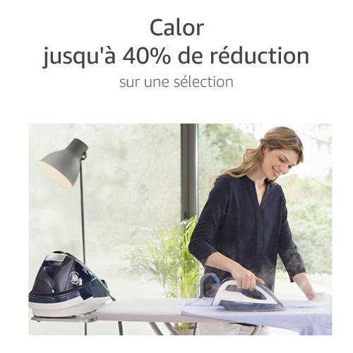 Jusqu'à 40% de réduction sur une sélection Calor