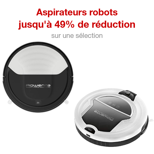Rowenta Aspirateur Robot Smart Force