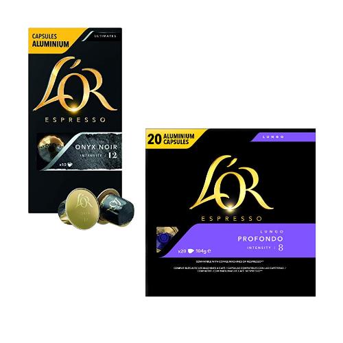 L'OR Espresso: jusqu'à -30% sur les capsules compatibles Nespresso