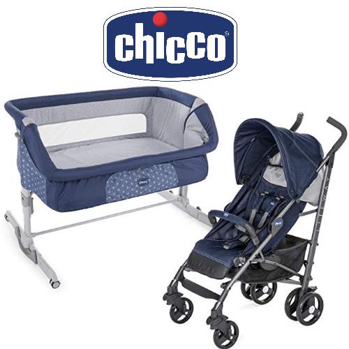 CHICCO: Jusqu'à -20% sur des berceaux cododo, poussettes trio, lits de voyage