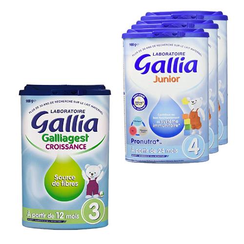 Laboratoire Gallia& Blédilait: -20% sur les laits de croissance