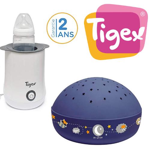 TIGEX: jusqu'à -20% sur veilleuse, chauffe biberons, et autres produits bébé