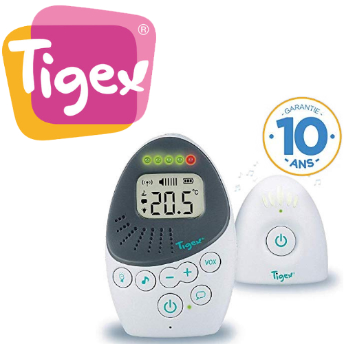 TIGEX: jusqu'à -20% sur babyphone écoute-bébé
