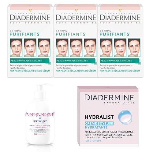 Diadermine, Hydralist... : Jusqu'à -40% sur des produits de beautés