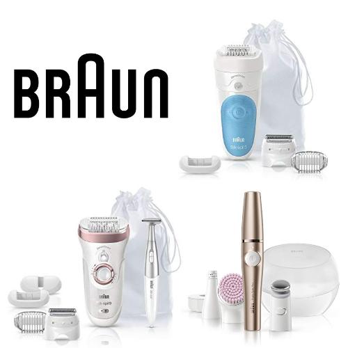 Braun : jusqu'à -25% sur les épialteurs électriques