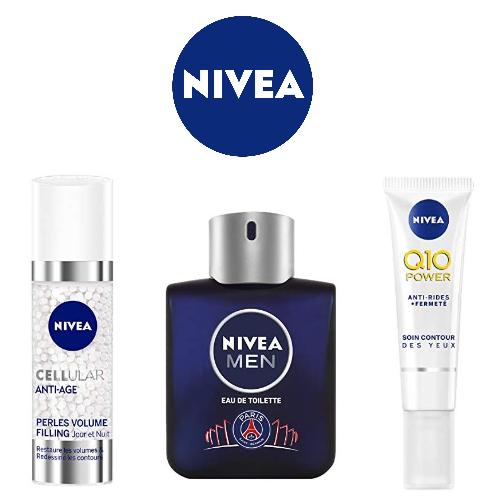 Nivea : Jusqu'à -50% sur des soins visage et corps
