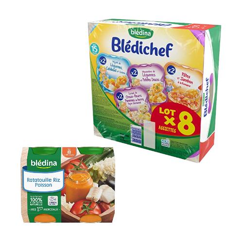 Blédina: -30% sur les assiettes et les petits pots