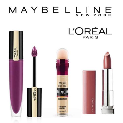 Maybelline New York & L'Oréal Paris: Jusqu'à -47% sur des produits de maquillage