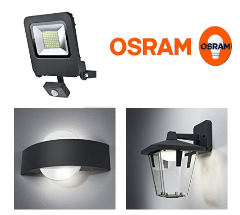 Osram: jusqu'à -45% sur l'éclairage extérieur Endura