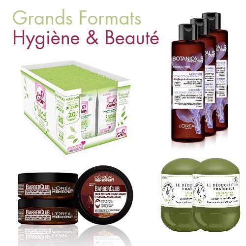 Garnier, La Provençale, Men Expert, Cadum... -30% sur les Grands Formats Hygiène & Beauté