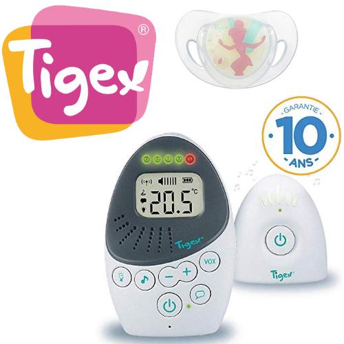 Tigex: -20% sur écoute bébé, chauffe biberons, trousse maternité, veilleuse, et autres produits bébé
