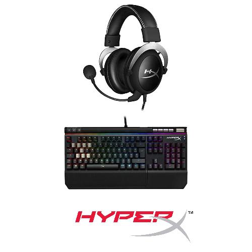 HyperX : jusqu'à -35% sur des accessoires Gaming