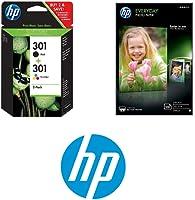 HP : Jusqu'à -20% sur le pack de 2 cartouches HP 301 + Papier photo