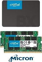 Crucial & Ballistix: jusqu'à -30% sur une sélection SSD et DRAM