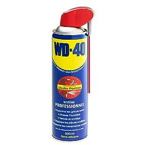 aérosols professionnel, WD40, WD-40, lubrifiant, degrippant, chasseur d'humidité, multifonction