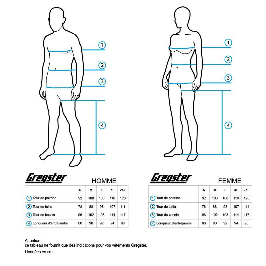 Pour Femmes Pantalon 3//4 de Randonn/ées et Trecking Mati/ère l/ég/ère Plusieurs Coloris disponibles Gregster Coupe classique