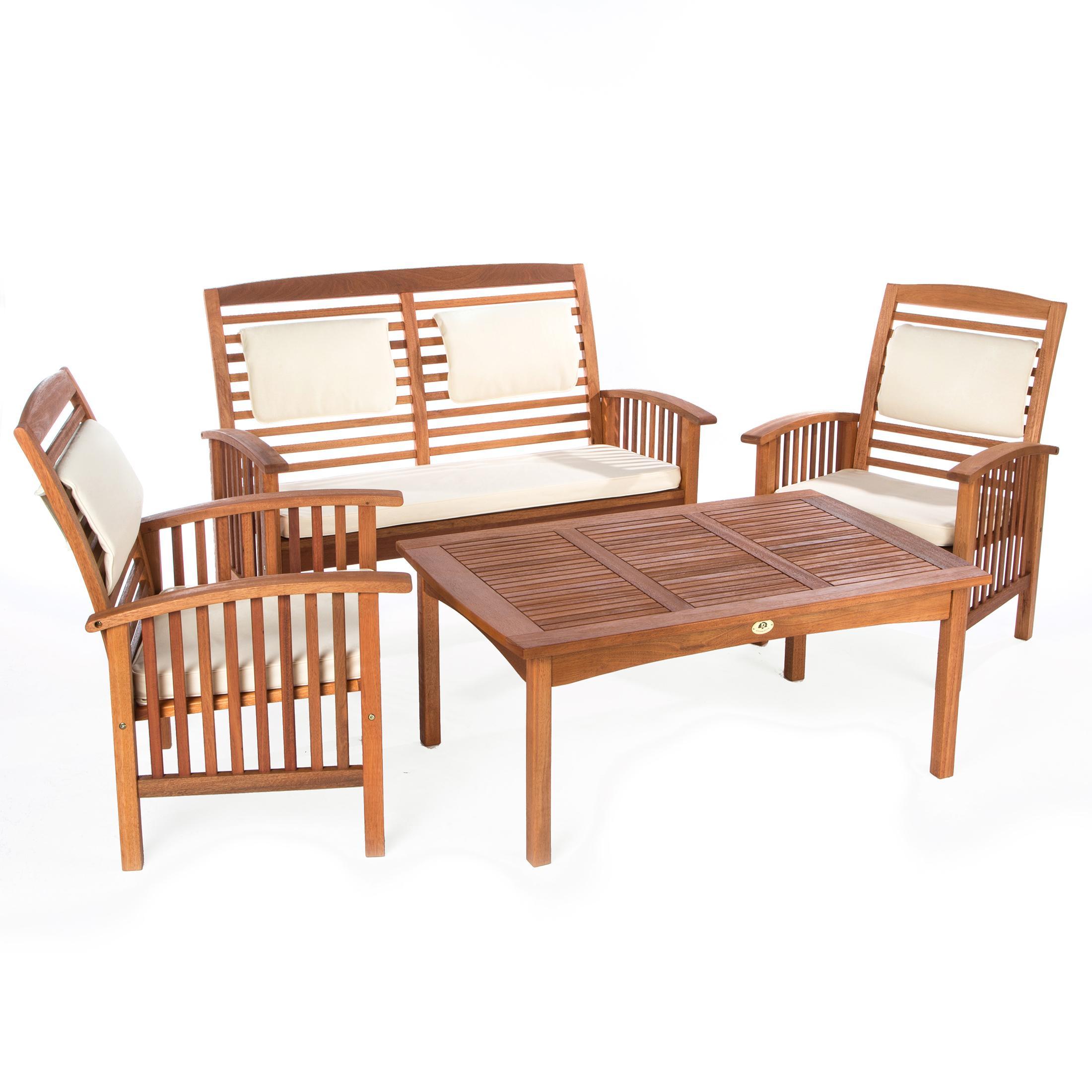 ultranatura table lounge gamme canberra l gant bois d 39 eucalyptus de qualit sup rieure. Black Bedroom Furniture Sets. Home Design Ideas