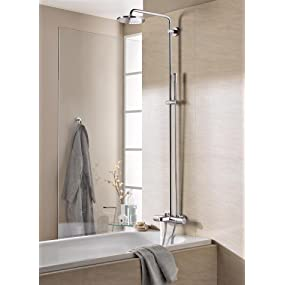 grohe colonne de douche avec thermostatique bain douche. Black Bedroom Furniture Sets. Home Design Ideas