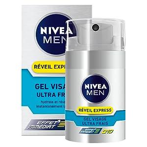 gel hydratant Q10 réveil express nivea men