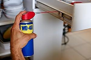 grinçement, gond, porte, lubrification, rail, tiroir, entretien maison