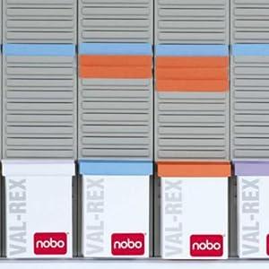 nobo kit tableau planning fiches t hebdomadaire 8 colonnes 54 fentes 5 tuis de 100 fiches. Black Bedroom Furniture Sets. Home Design Ideas