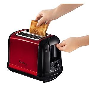 moulinex lt260d11 grille pain subito fonction d cong lation et r chauffage tiroir ramasse. Black Bedroom Furniture Sets. Home Design Ideas