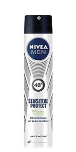 déodorant spray atomiseur sensitive peau sensible