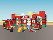 lego duplo 10593 la caserne des pompiers. Black Bedroom Furniture Sets. Home Design Ideas