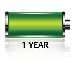 Durée de vie des piles d''un an