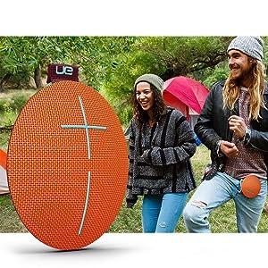 Wireless Bluetooth Speaker, haut-parleur portable sans fil, Wireless Speaker, Bungee, cadeau Noël