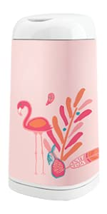 Housse Angelcare Flamant Rose