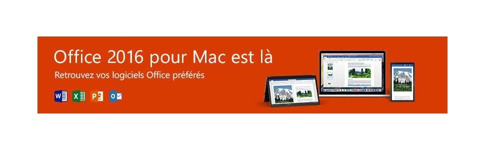 microsoft office mac famille et petite entreprise 2016