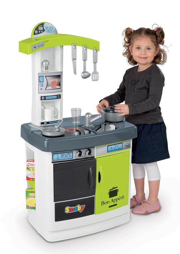 Smoby 24216 jeu d 39 imitation cuisine bon app tit jeux et jouets - Cuisine smoby bon appetit ...
