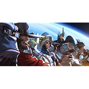 Les héros d'Overwatch