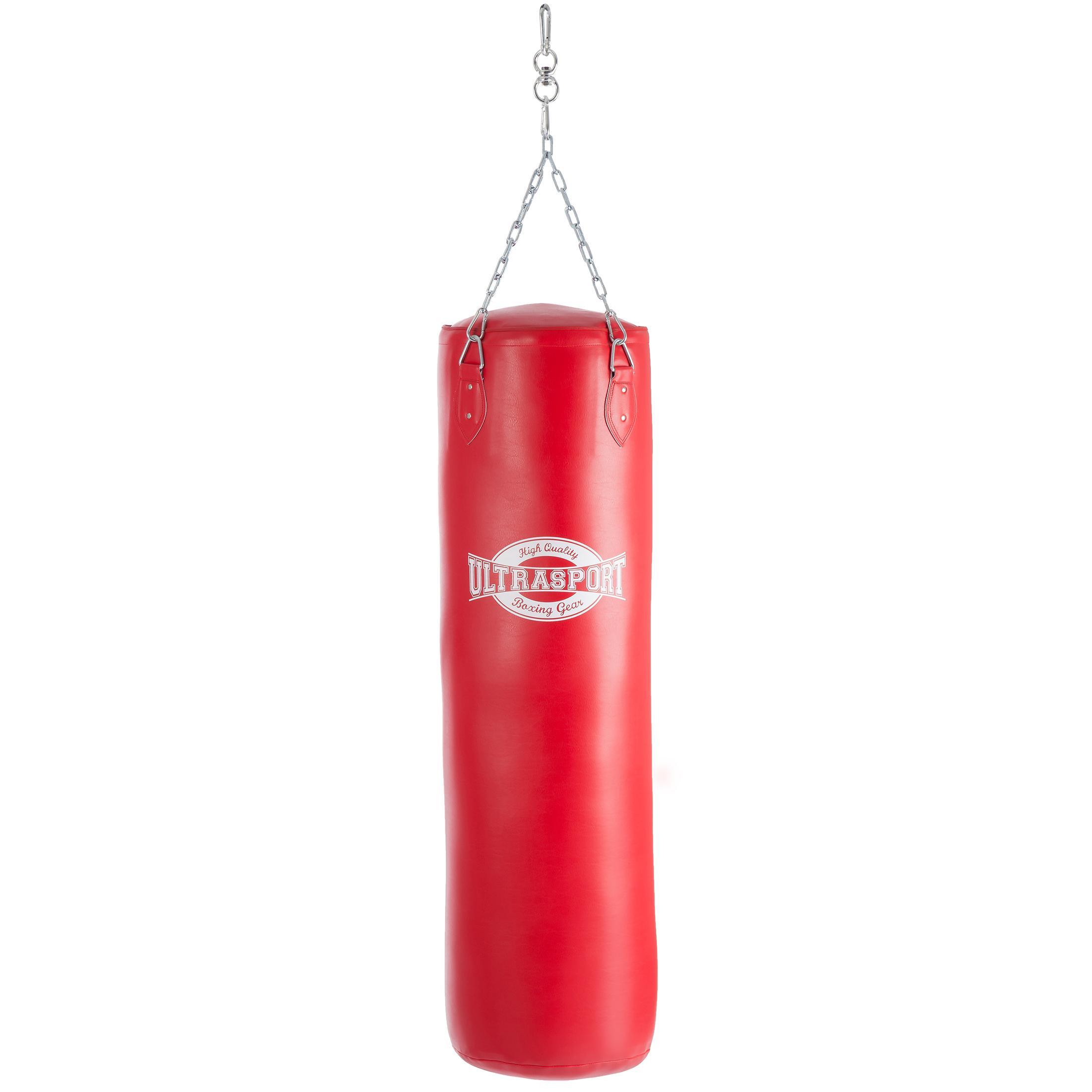 ultrasport equipement de boxe sac de boxe 120 cm simili. Black Bedroom Furniture Sets. Home Design Ideas