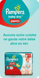 Culottes Pampers Baby-Dry Pants