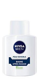 baume après rasage sensitive peau sensible