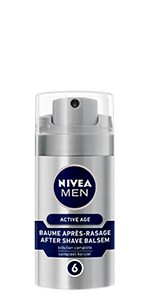 baume après-rasage active age nivea men
