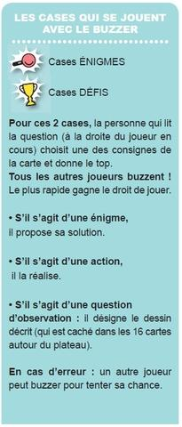 Destockage RAVENSBURGER Jeu des Incollables + Buzzer  questions  reponses au