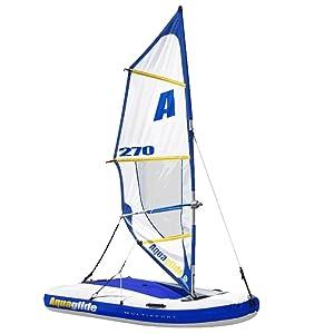 aquaglide multisport 270 gonflable bateau voile planche voile kayak et bou e tract e. Black Bedroom Furniture Sets. Home Design Ideas