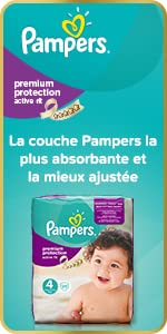 Couches Pampers Active Fit Premium Protection