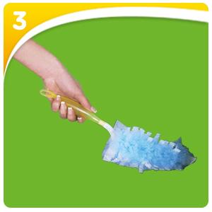 SWIFFER DUSTER Kit poignée + 5 plumeaux