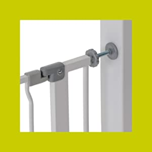 Hauck barri re safety gate lxh 75 cm 81 cm x 77 cm - Barriere de securite escalier sans vis ...