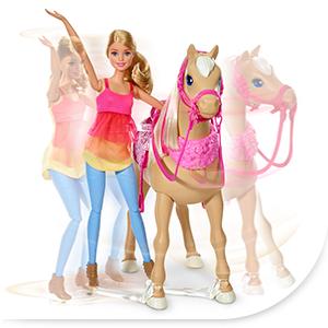 barbie dmc30 cheval de danse jeux et jouets. Black Bedroom Furniture Sets. Home Design Ideas