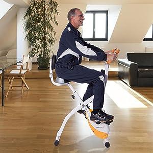 ultrasport v lo d 39 appartement pliable avec dossier 200b sports et loisirs. Black Bedroom Furniture Sets. Home Design Ideas